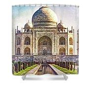 Taj Mahal - Paint Shower Curtain