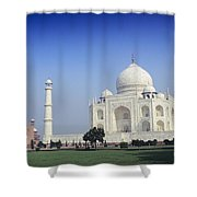 Taj Mahal View Shower Curtain