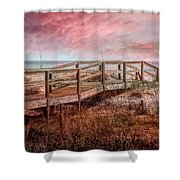 Take A Long Walk Into Dawn Shower Curtain