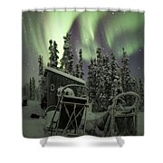 Take A Seat For The Aurora Shower Curtain