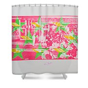 Take Five 4 Shower Curtain
