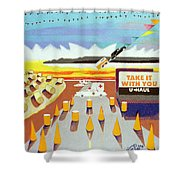 Take It With You Shower Curtain