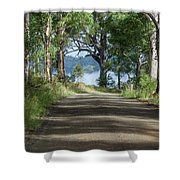 Take Me Home Country Roads Shower Curtain