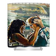 Take Me Into Your Loving Arms Shower Curtain