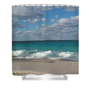 Take Me To The Bahamas Shower Curtain