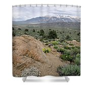 Take Me To The Mountains Shower Curtain by Margaret Pitcher