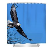 Take Off For Target Shower Curtain