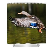 Take-off - Santa Cruz, California Shower Curtain