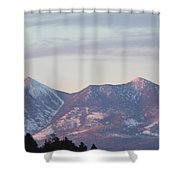 Take Your Breath Away Shower Curtain