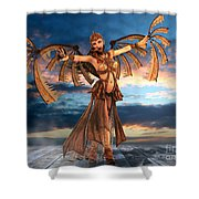 Takeoff Shower Curtain