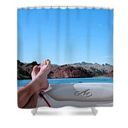 Takin It Easy Shower Curtain