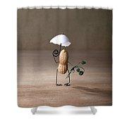 Taking A Walk 01 Shower Curtain by Nailia Schwarz