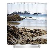 Long Beach Views Shower Curtain