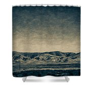 Taking The 5 Through Bakersfield, California Shower Curtain