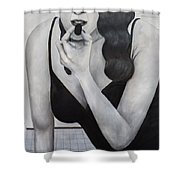 Taking Time Shower Curtain by Patrick Kelly
