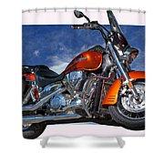 Tak'n The High Road Shower Curtain