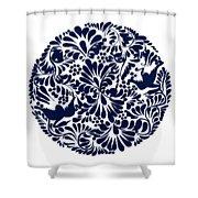 Talavera Design Shower Curtain