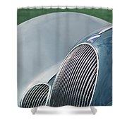 Talbot Lago Lines Shower Curtain