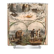 Tale Of The Marche Rich And Basil Homeless 1 Shower Curtain