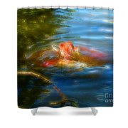 Tale Of The Wild Koi 2  Shower Curtain