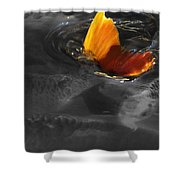 Tale Of The Wild Koi 3 Shower Curtain