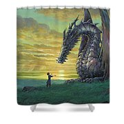 Tales From Earthsea Shower Curtain