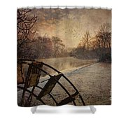 Tales From The Riverbank  II Shower Curtain