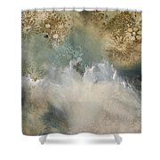 Talking With The Ocean Shower Curtain