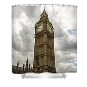 Tall Big Ben Shower Curtain
