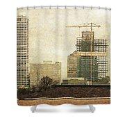 Tall Buildings Shower Curtain