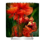 Tall Poppies Shower Curtain
