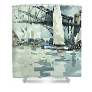 Tall Sails In Sydney Shower Curtain