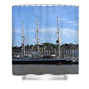 Tall Ship Race Waterford 2011 Shower Curtain