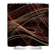 Talladega Highway Shower Curtain