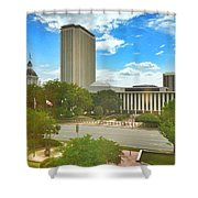 Tallahassee  Shower Curtain