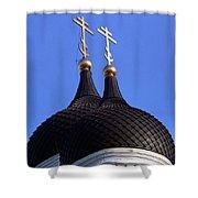 Tallinn Estonia Alexander Nevski Cathedral. Shower Curtain