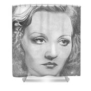 Tallulah Bankhead Shower Curtain