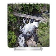 Tallulah Falls Bridge Shower Curtain