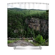Tallulah Gorge 5 Shower Curtain