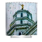 Talo Palvonta Shower Curtain