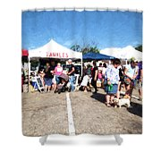 Tamales For Sale Shower Curtain