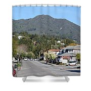 Tamalpais From Mill Valley Shower Curtain