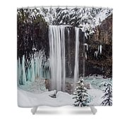 Tamanawas Falls 1 Shower Curtain