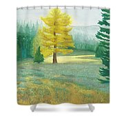 Tamarack Shower Curtain