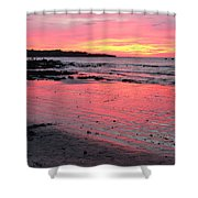 Tamarindo Sunset Shower Curtain