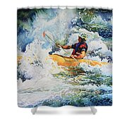 Taming Of The Chute Shower Curtain
