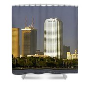 Tampa And Bayshore Shower Curtain
