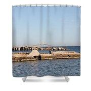 Tampa Bay 3 Shower Curtain
