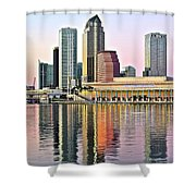 Tampa Bay Alive With Color Shower Curtain