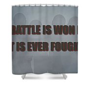 Tampa Bay Buccaneers Battle Shower Curtain